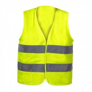 Kamizelka ostrzeg. żółta dla dzieci 10-12 lat, l, ce,lahti