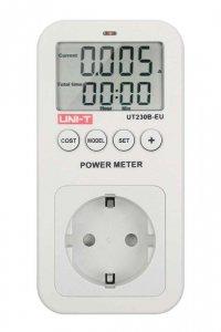 MIE0283 Gniazdo sieciowe z miernikiem zużycia energii Uni-T UT230B-EU