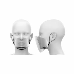 Mini przyłbica / półprzyłbica na nos i usta