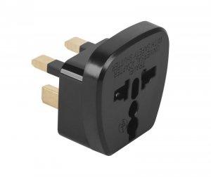 ZLA0565A Złącze AC wtyk UK - gniazdo uniwersalne (QZ36)