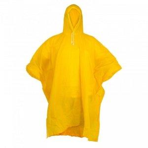 Peleryna przeciwdeszcz. ponczo, żółta, uniw.,ce,lahti