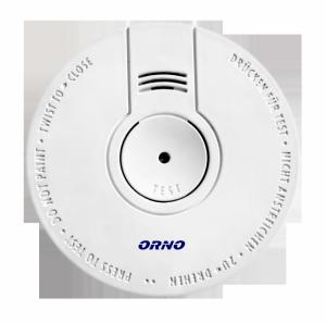 Bateryjny czujnik dymu, 9V DC, BSI