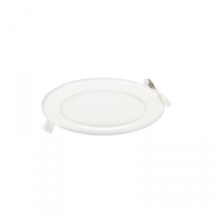 EURUS LED 9W, oprawa downlight, podtynkowa, okrągła,  480lm, 3000K, biała, wbudowany zasilacz LED