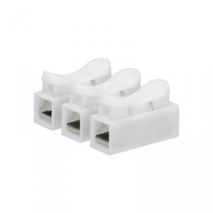 Złączka trzytorowa sprężynowa, 3x2,5mm?, 10 sztuk
