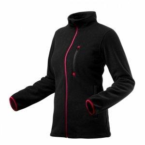 Bluza polarowa damska, czarna, rozmiar XL