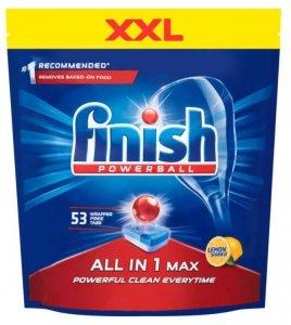 FINISH Tabletki All-in-1 Max 53 cytrynowe