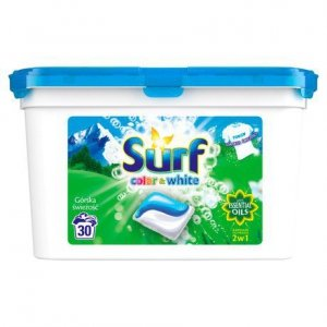 SURF Kapsułki do prania Górska Ś Kolor&Bialy 30szt