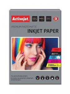 Papier matowy Activejet AP4-125M100 (A4; 100 szt.)
