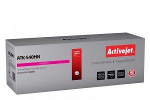 Toner Activejet ATK-540MN (zamiennik Kyocera TK-540M; Supreme; 4000 stron; czerwony)