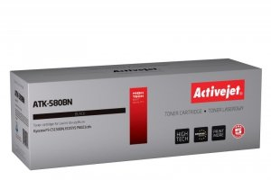Toner Activejet ATK-580BN (zamiennik Kyocera TK-580K; Supreme; 3500 stron; czarny)