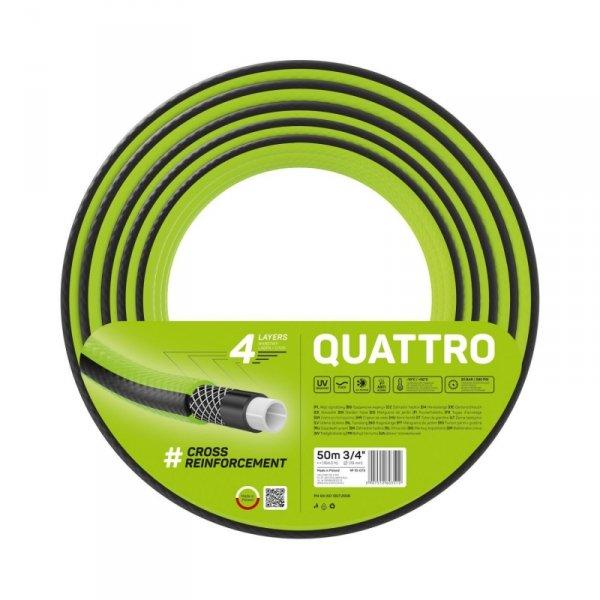 """Wąż ogrodowy Cellfast Quattro 3/4"""" 50m"""