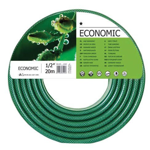 """Wąż ogrodowy z pcw fi=1/2"""" dł.30m rolka, economic"""