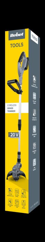 Podkaszarka akumulatorowa do trawy 20V