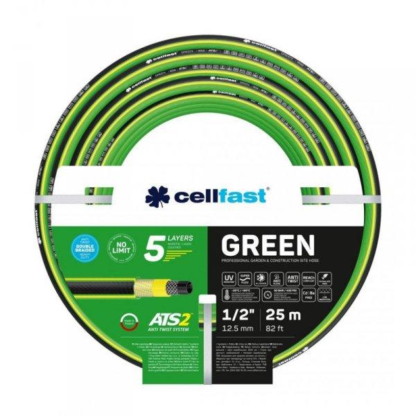 Wąż ogrodowy CELLFAST Green ATS2 15-100 (12.5 mm; 25000 mm)