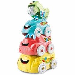 Wieża z zabawnych autek Clementoni