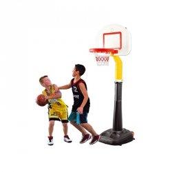 WOOPIE Duża Koszykówka 15-stopniowa Regulacja 280 cm do Prawdziwej Piłki