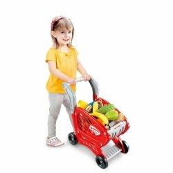 WOOPIE Wózek Sklepowy dla Dzieci Ruchome Elementy + 27 Akc.