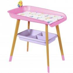 Baby Born Różowy Przewijak dla Lalki 43 cm + Akcesoria