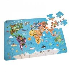 CLASSIC WORLD Puzzle Mapa Świata