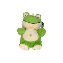 Pacynki z głosem 22 cm, żabka