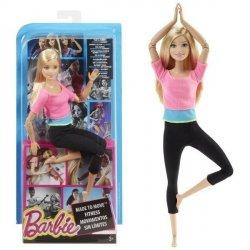 Lalka Barbie Made to Move Różowy top