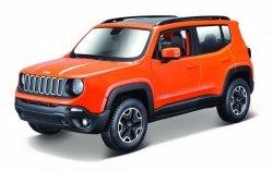 Model metalowy Jeep Renegade 1:24 do składania