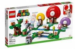 Klocki Super Mario 71368 Toad szuka skarbu - zestaw rozszerzający