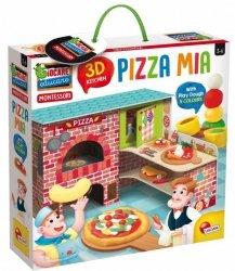 Zestaw Montessori Moja pizza 3D z modeliną