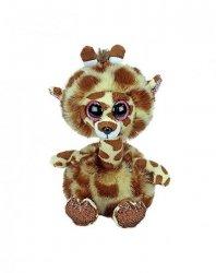 Maskotka TY Beanie Boos Żyrafa z długą szyją Gertite 15 cm