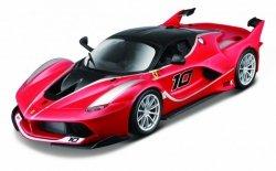 Auto Ferrari FXXK czerwony 1/24 do składane