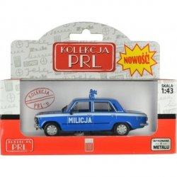 Pojazd PRL Fiat 125P Milicja