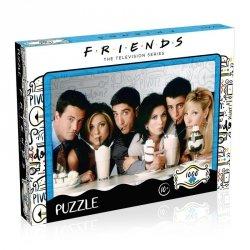 Puzzle 1000 elementów Przyjaciele Milkshake