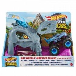 Zestaw samochodowy Mały Wyrzutnia Dinozaur