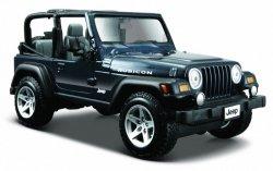 Jeep Wrangler Rubicon 1/27 Niebieski