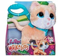 Maskotka interaktywna Fur Real Duży Kot na smyczy