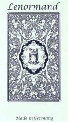 Karty Tarot Mlle Lenormand Blue Owl GB