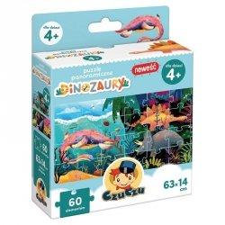 Puzzle panoramiczne - Dinozaury