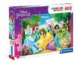 Puzzle 60 elementów Maxi - Księżniczki Disneya