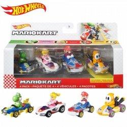 Zestaw pojazdów Mario Kart 4-pak