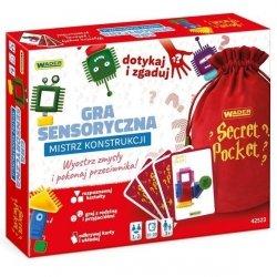 Gra sensoryczna - Mistrz konstrukcji