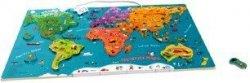 Top Bright Magnetyczna mapa świata