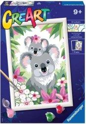 Malowanka CreArt dla dzieci Słodkie koale