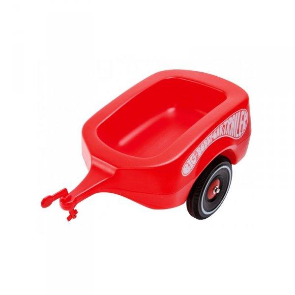 BIG Przyczepka do jeździka Bobby Car czerwona