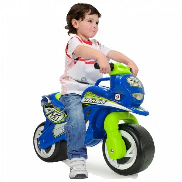 INJUSA Motorek Biegowy Jeździk dla dzieci Tundra Tornado