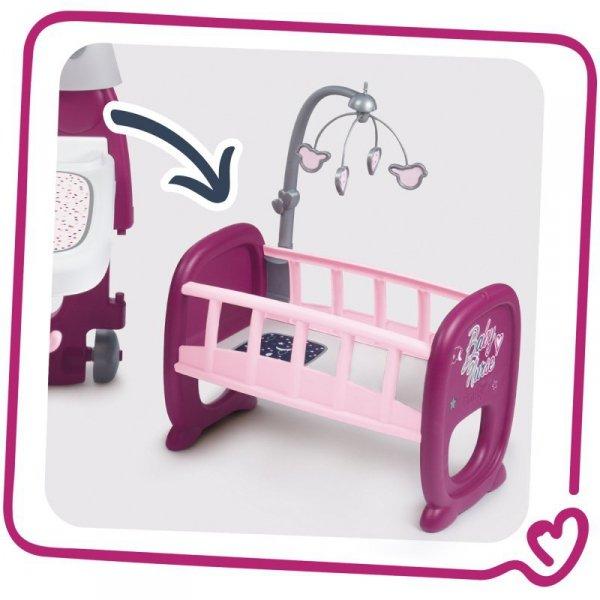 Smoby Kącik Opiekunki Baby Nurse Opiekunka Dla Lalek