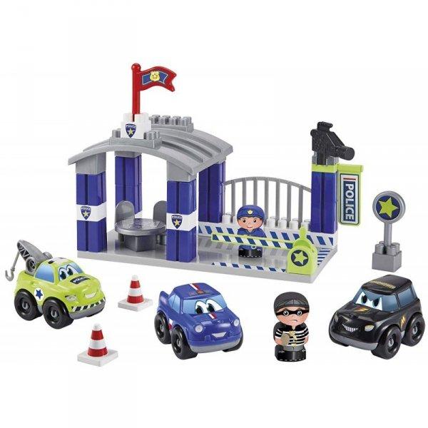 Ecoiffier Abrick Posterunek Policji z pojazdami