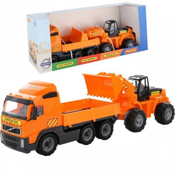 Wader QT Zestaw Ciężarówka VOLVO + Koparka