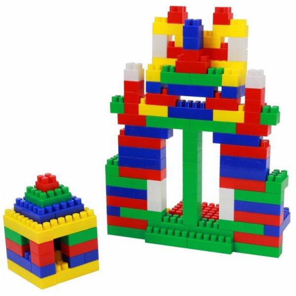 Klocki Konstrukcyjne Budowniczy 174 elementy
