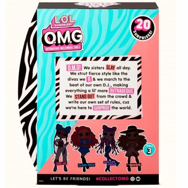 L.O.L. Surprise OMG Doll Series 3- Da Boss Lalka Fashion
