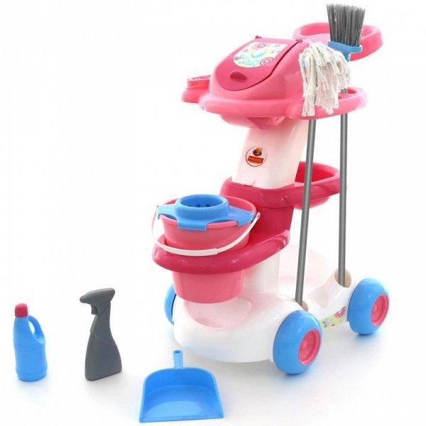 WADER QT Zestaw Do Sprzątania Wózek